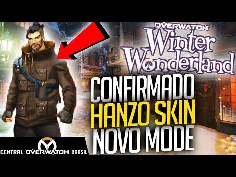 Overwatch Natal 2017 - Confirmado Skin Lendária Hanzo, Junkrat e Roadhog + Novo Mode! - Central