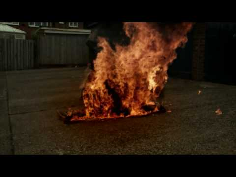 Girl set on fire!!!?