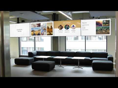 Digital Signage Google Slides app on ScreenCloud