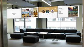 Digital Signage Google Slides app on ScreenCloud