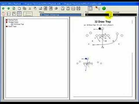 football playbook software enter plays youtube