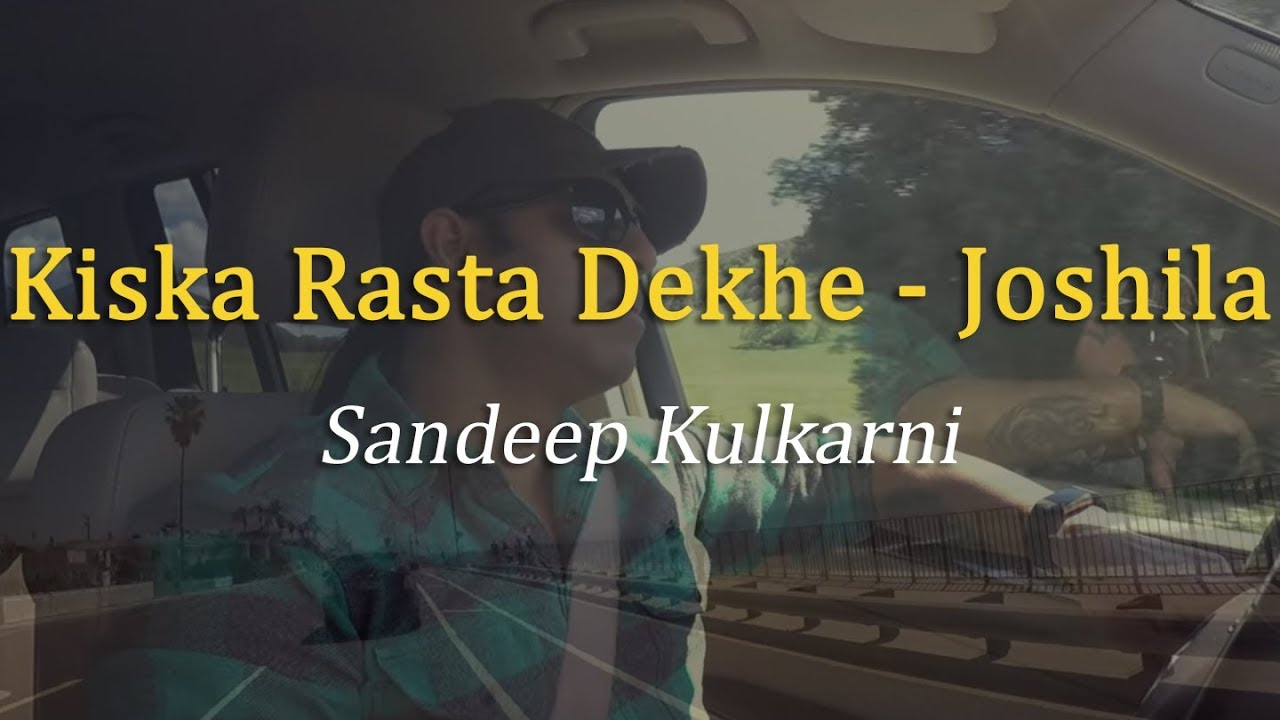 Kiska Rasta Dekhe Instrumental With Lyrics - YouTube