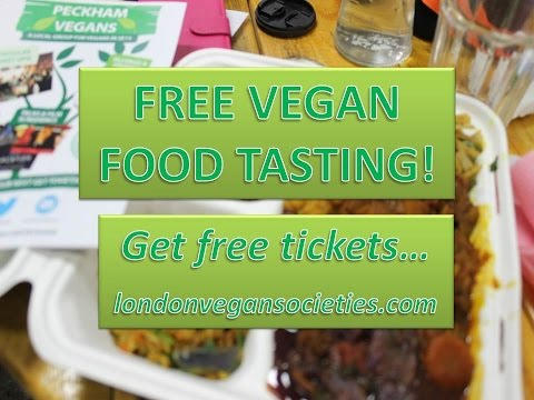 TRY VEGAN! FREE FOOD EVENT - Peckham, London