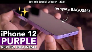 KOK BAGUS?! 💜 iPhone 12 PURPLE Unboxing Indonesia - Review by iTechlife