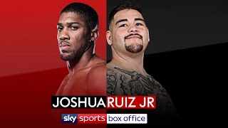 BREAKING! Anthony Joshua to defend his titles against Andy Ruiz Jr. on June 1 at MSG