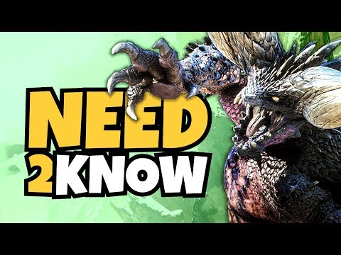 Monster Hunter World – 20 Things You NEED TO KNOW!