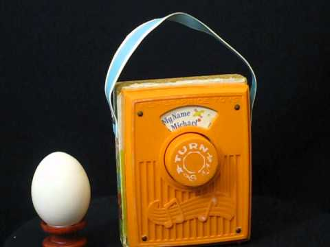 Vintage music box (Fisher Price radio) series