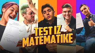 Rješavamo test iz matematike za 1. RAZRED OSNOVNE | TheSikrt & Svenky & Luciano & Antonia Dora & ASH