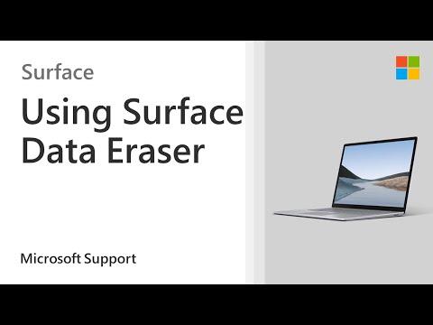Securely Wipe Data Using Surface Data Eraser | Microsoft