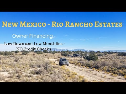 New Mexico Land for Sale - Rio Rancho Estates 1 Acre w/ Owner Financing