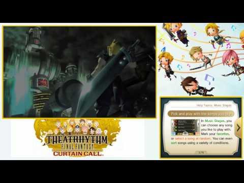 #01 Présentation Final Fantasy Theatrythm : Curtain Call