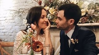 gossip girl star penn badgley is married to domino kirke see the pic