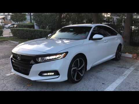 RED LEATHER - 2018 Honda Accord Sport 2.0T REVIEW