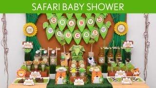 Safari Baby Shower Party Ideas // Safari - S10