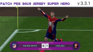 PES 2020 MOBILE PATCH   Marvel