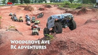 RC Scale Trucks Offroad Adventures RC Toyota Hilux Land Rover Defender Jeep Wrangler RC4WD