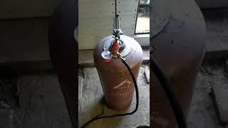 Бюджетное отопление для гаража.