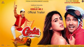 Coolie No. 1 Trailer , Varun Dhawan, Sara Ali Khan, Govinda, Dawid Dhawan, Coolie No.1 Movie Trailer