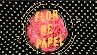 FLOR DE PAPEL | APEMEDE