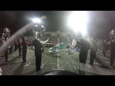 Albertville High School Drum Cam 10112019