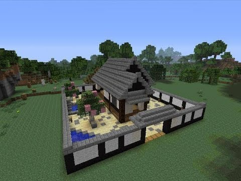 Minecraft Tutorial Japanese Ninja House YouTube