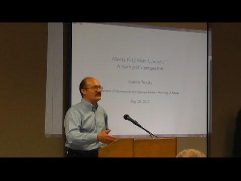 Alberta Math & Education Forum - Part 3