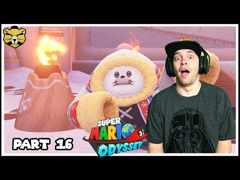 I'm Freezing My Coins Off! Mario Odyssey Part 16