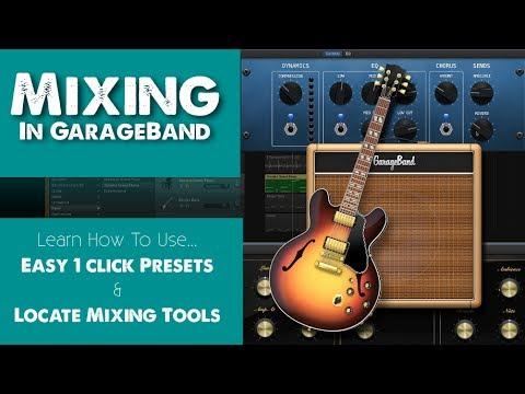 Mixing In GarageBand