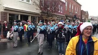 Pride of Colgan Marching Band- Manassas Christmas Parade