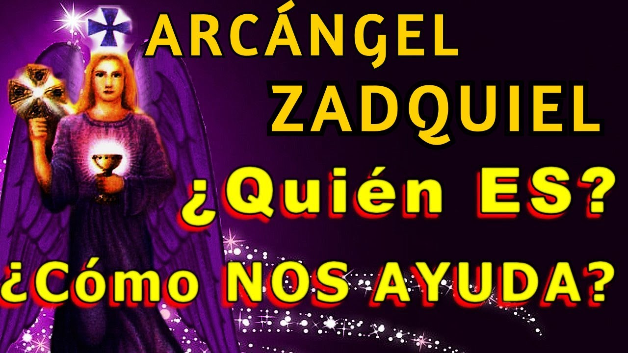 ARCANGEL ZADQUEL Quién ES y Como NOS AYUDA ▬ (Sus DONES y VIRTUDES)💜 RAYO VIOLETA💜