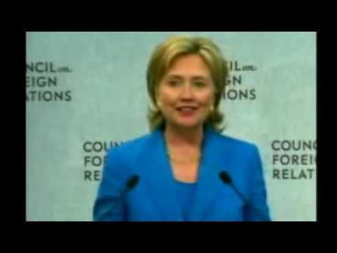 Hillary Clinton admits that the CFR runs the Government