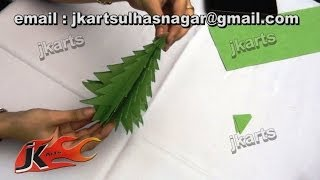 Diy How To Make Christmas Tree (paper Craft For Kids) - Jk Arts 076