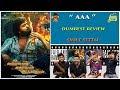 AAA Movie Review Dumbest Review STR Shriya Tamannah Smile Settai