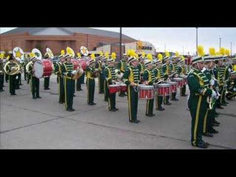 North Dakota State University Gold Star Marching Band