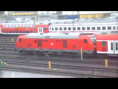 A Train Ride From Zeppelinheim To Frankfurt Am Main Hbf On The 15/03/2018