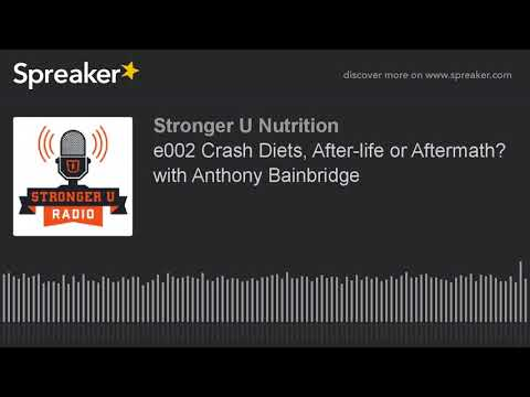 Stronger U e2 Crash Diets, After-life or Aftermath? with Anthony Bainbridge