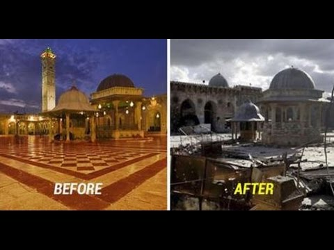 10 Disturbing Before-And-After Images Of Syria War Destroyed The Beautiful Nation