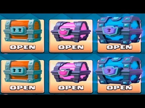 Clash Royale - JACKPOT SUPER MAGICAL CHEST - Free Super Magical Chest!