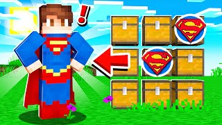 MATCH the SUPERHERO for LOOT in Minecraft!