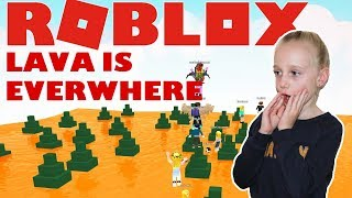 Roblox The Floor Is LAVA! 🔥. Lava is Everywhere