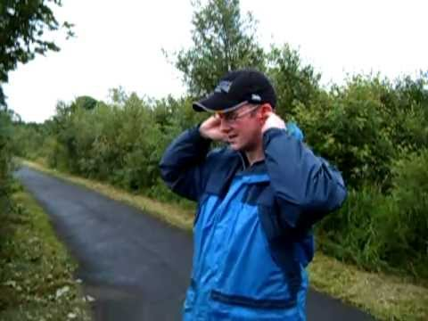 Very funny clip my mate George being eaten alive with midges