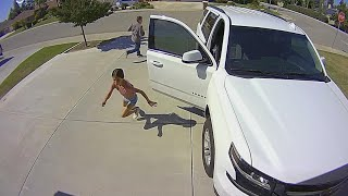 Download How a 10-Year-Old Scared Off Stranger in Her Driveway