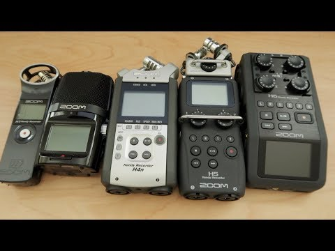 Which Zoom Audio Recorder Is For You?
