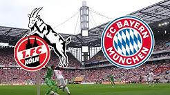 🔴1. FC KÖLN 1 : 4 FC BAYERN MÜNCHEN | 22. SPIELTAG | BUNDESLIGA HIGHLIGHTS UND TORREAKTIONEN
