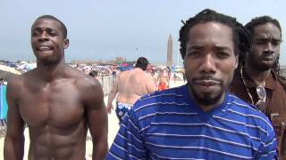 DJ, Kuji on Jones Beach