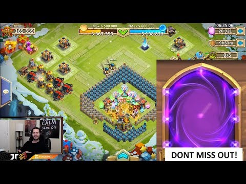 FREE 10,000 FAME For ALL Players F2P Hero Collector Rolls Castle Clash