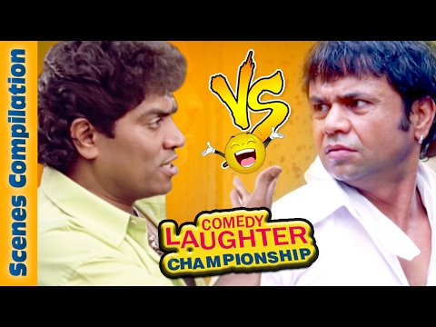 Thumbnail: Johnny Lever Comedy Scenes VS Rajpal Yadav Comedy Scenes {HD} - 1 - Comedy Laughter Championship