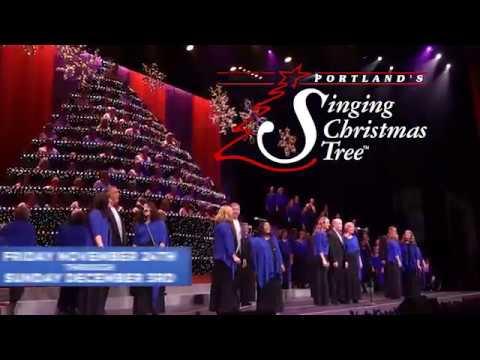 Singing Christmas Tree Portland.Portland S Singing Christmas Tree 2017