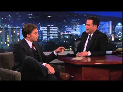 Michael C  Hall Jimmy Kimmel Live  3