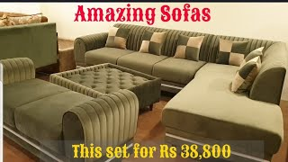 Most Economical Sofas   सबसे सस्ता सोफा   HomAge Furniture   Gaba Brothers   All India Delivery